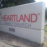 Heartland Church Monument Sign