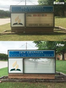 Monument Sign Repair & Updates
