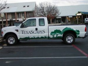 Custom Landscaping Truck Wrap