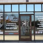 Flower Mound Window Signs & Graphics Copy of Chiropractic Office Window Decals 150x150