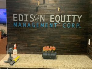 Edison Equity Sign